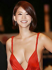Oh In Hye 오인혜 Sexy Red Sundress..