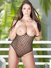 Beautiful big-titted girl: Angela White..