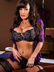 Lisa Ann and Ava Addams Ogling in th