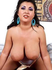 Big  BBW Jaylene Rio doggystyle..