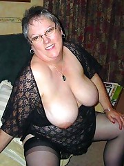 Still sexy and curvy middle aged  naked