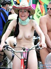 World Bare Bike Ride