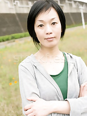 sport mature Asian woman stock photo ©..