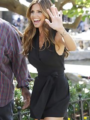 Charisma Carpenter - Shooting Extra Tv..