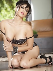 Spunky dark haired indian adult movie..