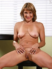 Horny moms open their muffs Mature Porn..
