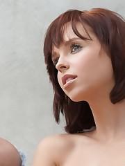 women pornstar redhead brief hair..