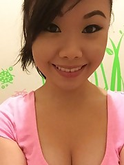 Japanese teenage with marvelous..