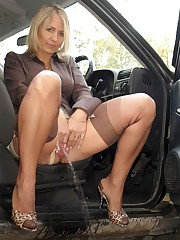 AlaNylons presents european MILF, who..