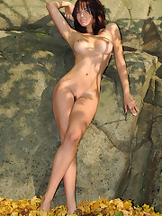 Adorable model Sirena A from MetArt..