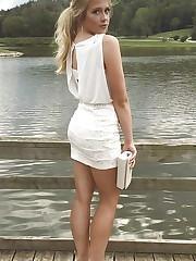 Blond Teen Cum Tribute Target - Photos..