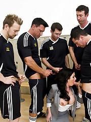 Five sporting boys and splendid..