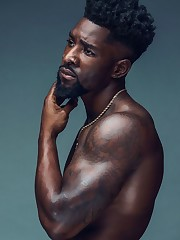 Gorgeous Black Guys With Beards Photos..