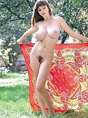 Czech gf with enormous bra-stuffers..
