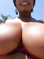 Gigantic breasted black girls nude..