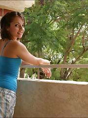 Pictures of Jordan Capri unveiling her..