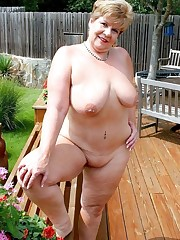 Totally naked mature gals with superb..