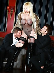 Superb babes fucking hard in casino,..