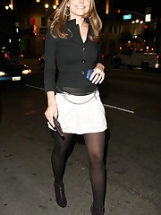 Maria Menounos in pantyhose Celebrities..