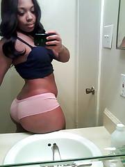 Unbelievable ebony butts