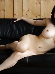 Huge-chested asian Anri Okita