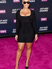 AMBER ROSE at VH1 Hip Hop Honors in New..