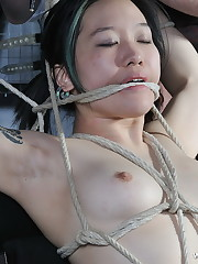 An Chinese lady in bondage from Rosie