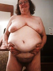 Ugly naked Grandma mix-pics