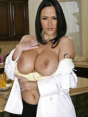 Busty chef Carmella Bing gets fucked..