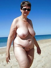Czech mature woman with huge innate..