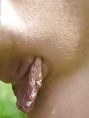 Ample Pussy Lips (Redux) - Pics -..