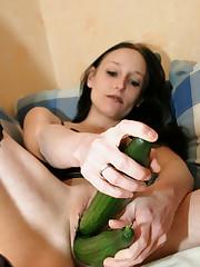 These femmes probing bizarre insertion