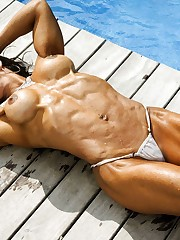 Naked Karyn Bayres amateur private..