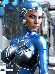 P7J5 Artist - The Sci-Fi Model