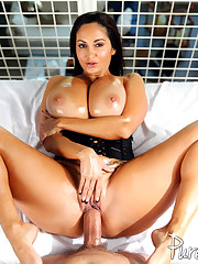 Big boobed chick Ava gets fucked hard..