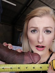 Alexa Grace Incredibly hefty black..