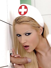 Wild nurse Virgin Smooch deep-throat..