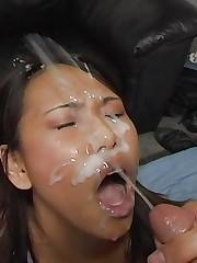Asians getting a load 3 upskirtporn