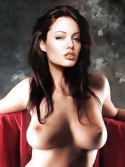 Mulheres as Belas: Angelina Jolie..
