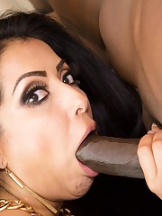 Curvy Latina sex industry star Kiara..