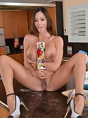 Hot big-boobed housewife Ariella..