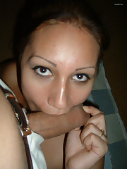 Greek amateur dark haired vag stretched..