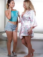 2 stunners Melissa Moore and Olivia..