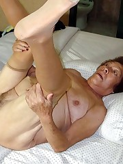 Nude old fuckboxes of fledgling grandmas