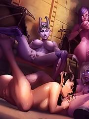 Look draenei Pornography comics