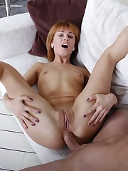 I fucked in the ass redhead Esmeralda