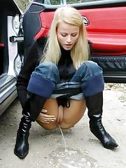 Many  where amateur chicks pee