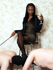Black damsels mens turns into a slaves..