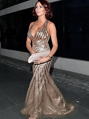 Amy Childs showing phat bosom attending..