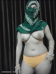 Hijab niqab arab girl fucking with..